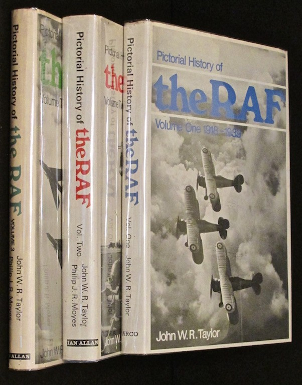 Image for PICTORIAL HISTORY OF THE RAF: THREE VOLUMES.