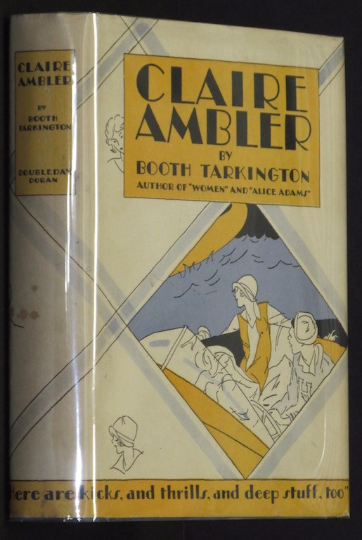 Image for CLAIRE AMBLER By BOOTH TARKINGTON 1928 First Edition