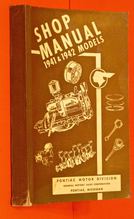 Image for Shop Manual 1941 and 1942 Models Pontiac Motor Division