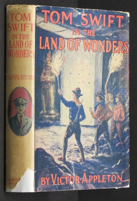 Image for Tom Swift in the Land of Wonders