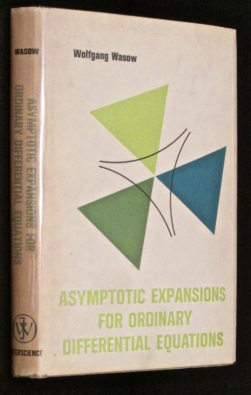 Image for Asymptotic expansions for ordinary differential equations (Pure and applied mathematics)