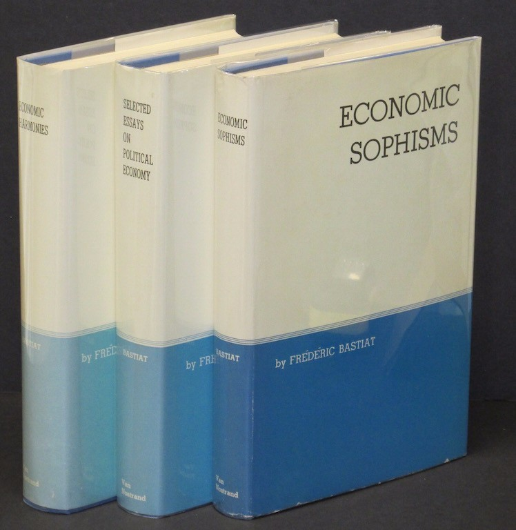 Image for Set of 3 Volumes - (Economic Sophisms) (Economic Harmonies) (Selected Essays ...