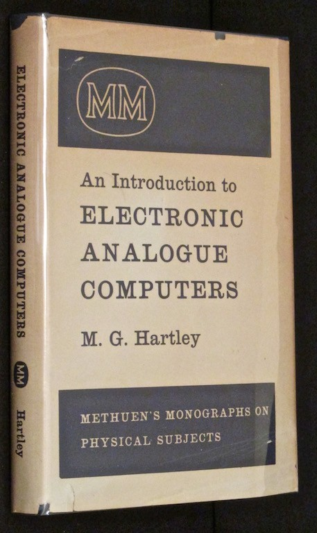 Image for An introduction to electronic analogue computers (Methuen's monographs on physical subjects)