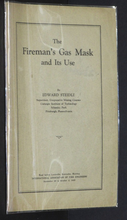 Image for The Fireman's Gas Mask and Its Use