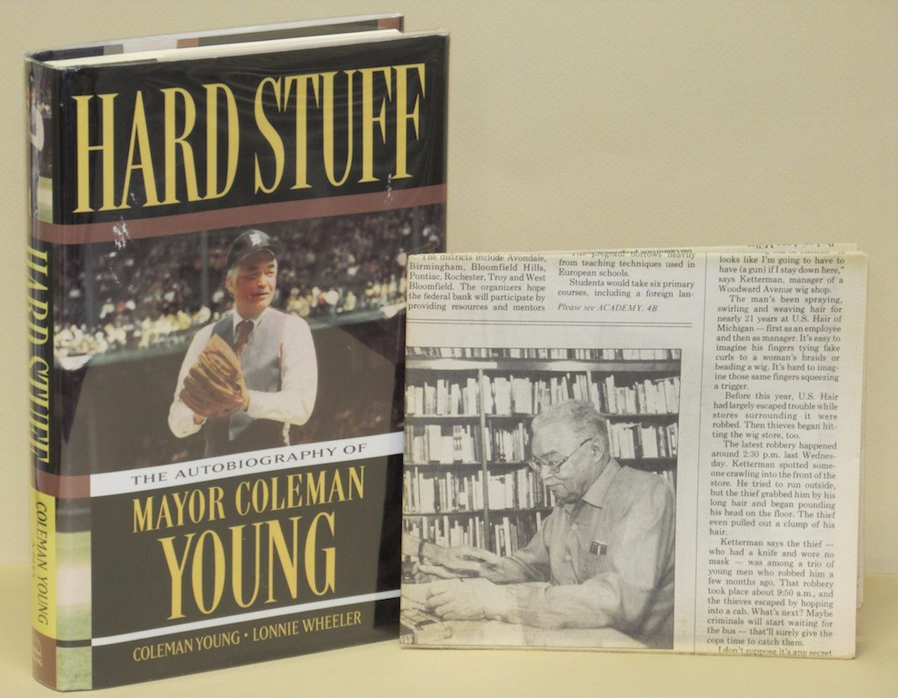 Image for Hard Stuff: The Autobiography of Mayor Coleman Young