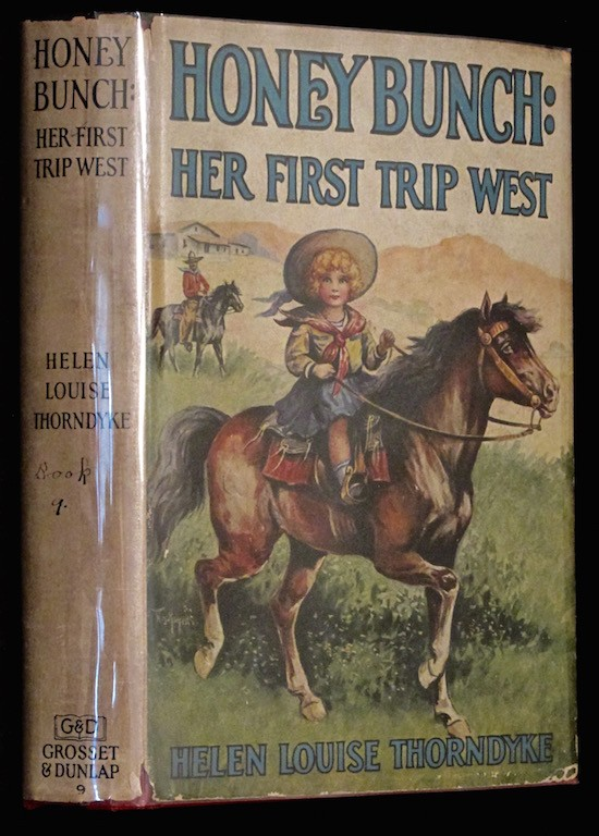 Image for Honey Bunch Her First Trip West