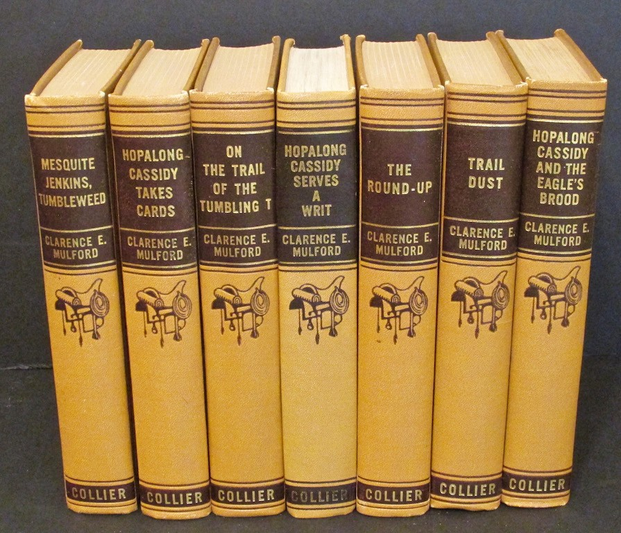 Image for Hopalong Cassidy and the Eagle's Brood; Hopalong Cassidy Takes Cards; Hopalong Cassidy Serves a Writ; Trail Dust Hopalong Cassidy and the Bar 20 with the Trail Herd (4 volumes)