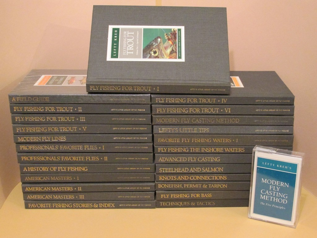 Image for Lefty's Little Library of Fly Fishing (25 Volume set)