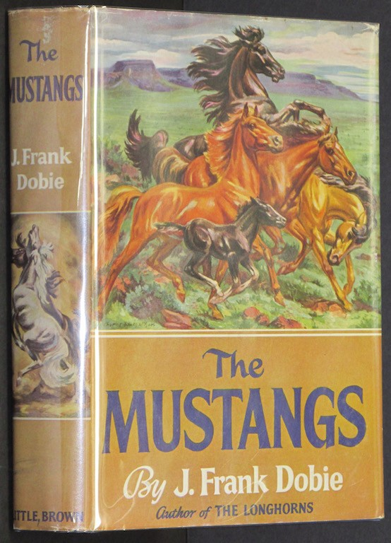 Image for The Mustangs [Hardcover] by Dobie, J. Frank