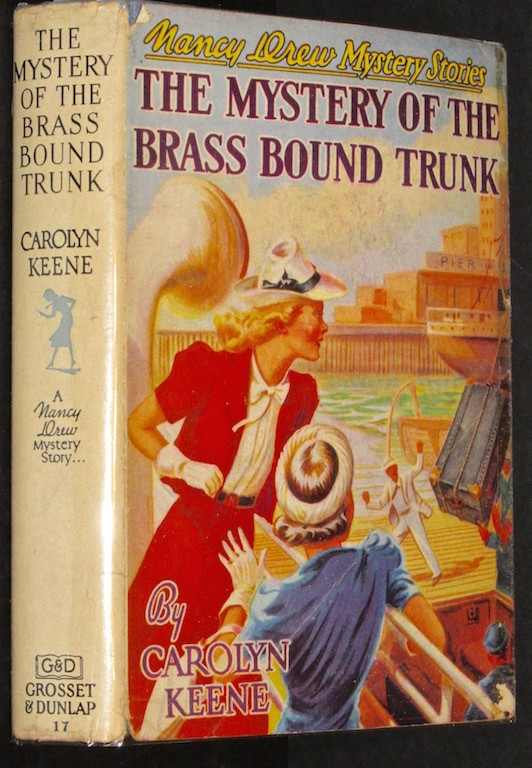 Image for The Mystery Of The Brass Bound Trunk (Nancy Drew Mystery Stories #17)