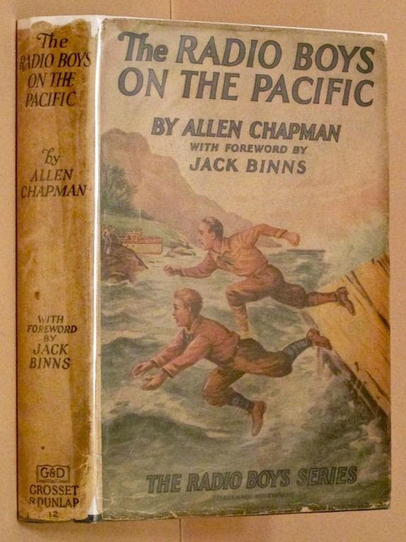 Image for The Radio Boys on the Pacific; or, Shipwrecked on an Unknown Island.