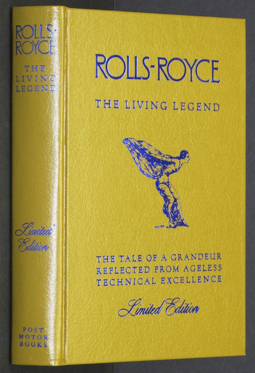 Image for Rolls-Royce The Living Legend [Hardcover] by Post, Dan R.