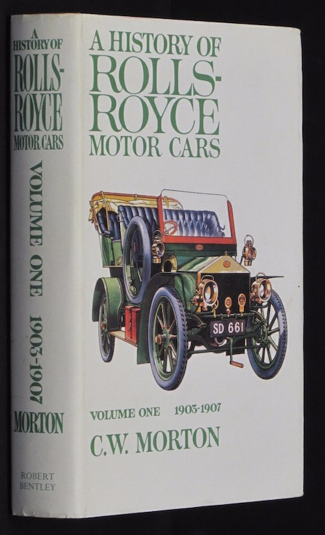 Image for A History of Rolls-Royce Motor Cars [Import] [Hardcover] by C.W. Morton