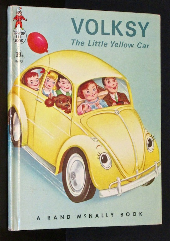 Image for Volksy, The Little Yellow Car (A Rand McNally Elf Book)